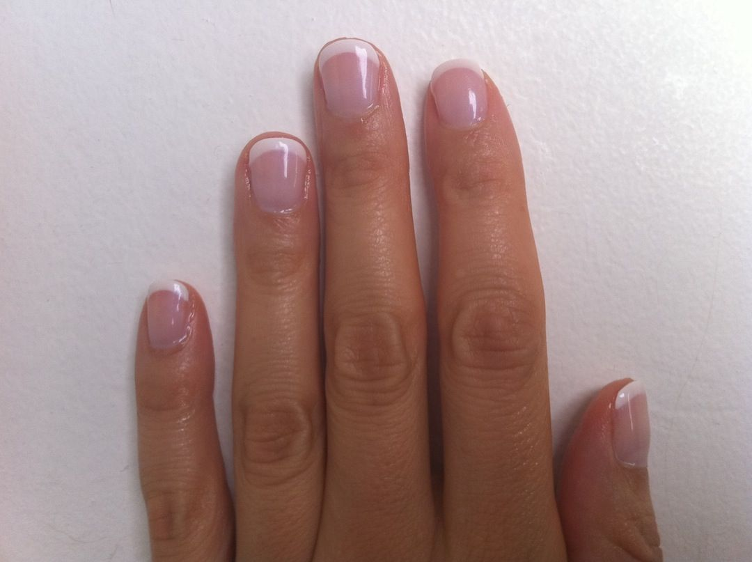 cnd-shellac-french-manicure-with-dashing-diva | Beauty | Pinterest ...