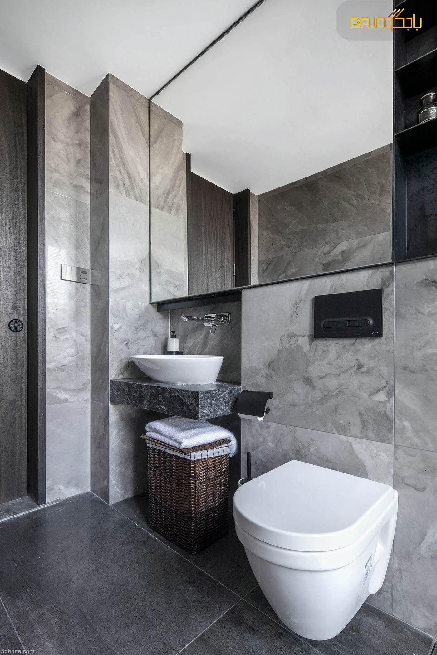 مغسلة رخام Bathroom Marble Toilet