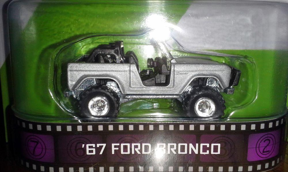 Hot Wheels 2014 Retro Zoolander 67 Ford Bronco Hotwheels Ford