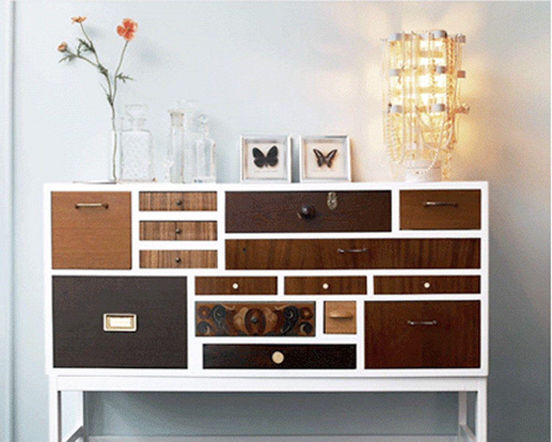 Cool Patchwork Dresser | Furniture | Pinterest | Dresser, Bedroom ...