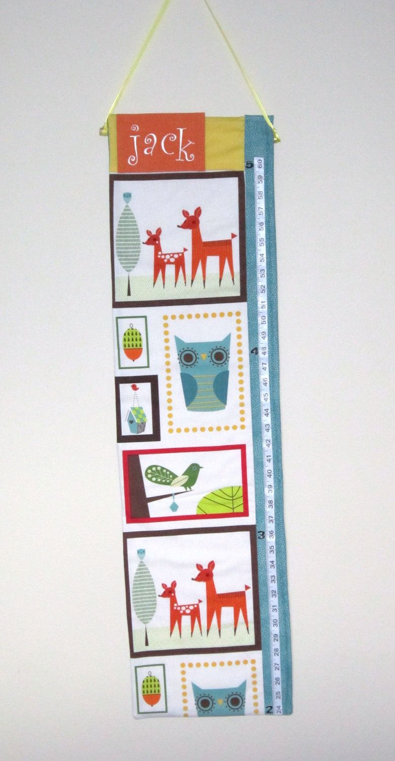 Retro critter fabric growth chart sewing pinterest fabric retro critter fabric growth chart geenschuldenfo Images