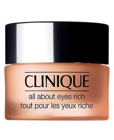Clinique All About Eyes Rich Eye Cream 0 5 Oz Reviews Skin Care Beauty Macy S All About Eyes Best Eye Cream Clinique Skincare