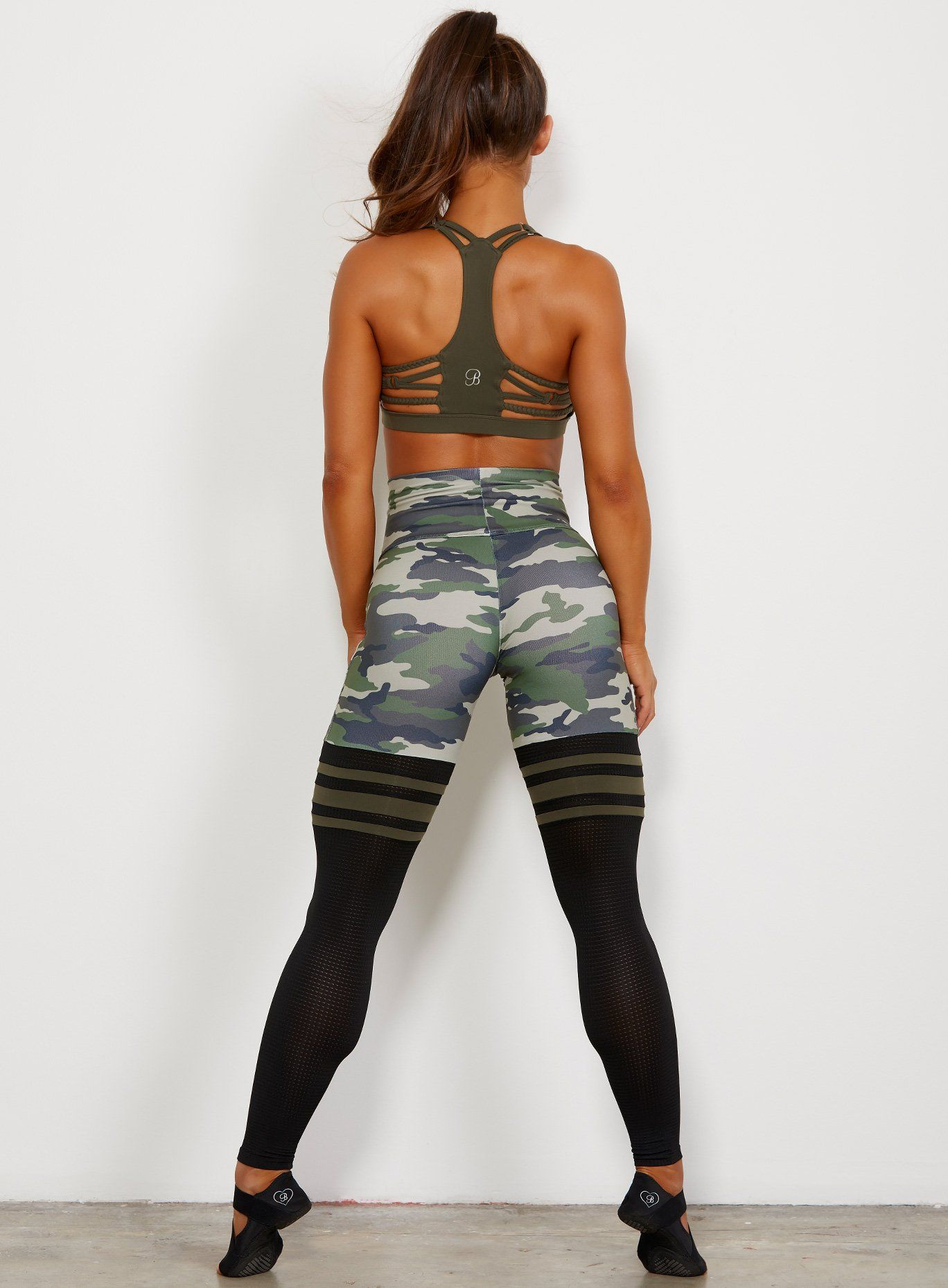 12eea01b6 High Waist Thigh-Highs 'Camo' in 2019 | Yoga pants and work out gear ...