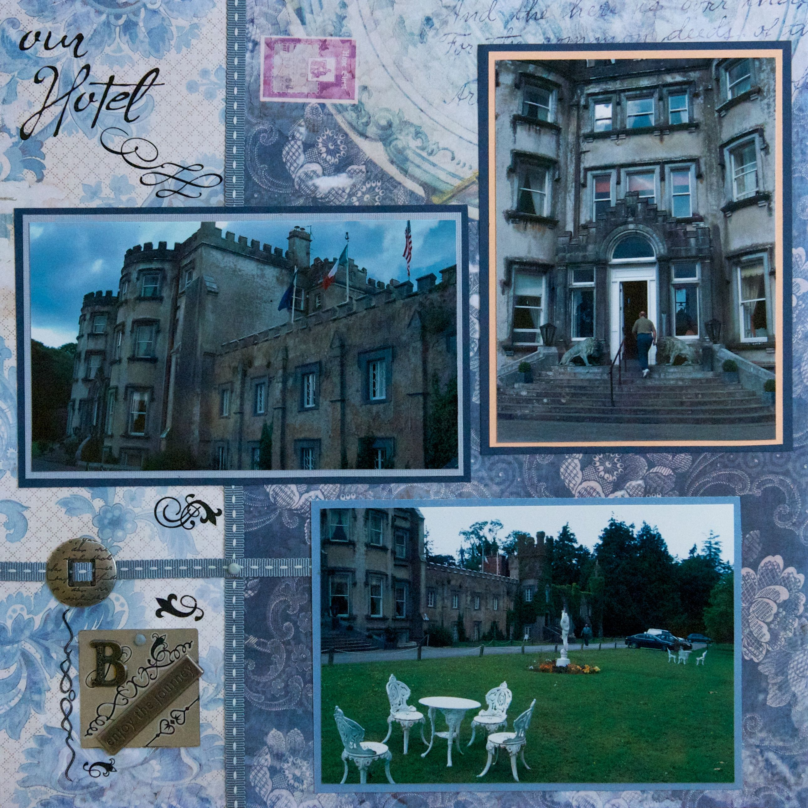 Scrapbook ideas england - Balleyseed Castle Ireland Right Side Scrapbook Com