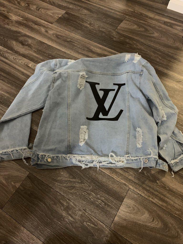 Photo of Custom Ripped Denim Jacket
