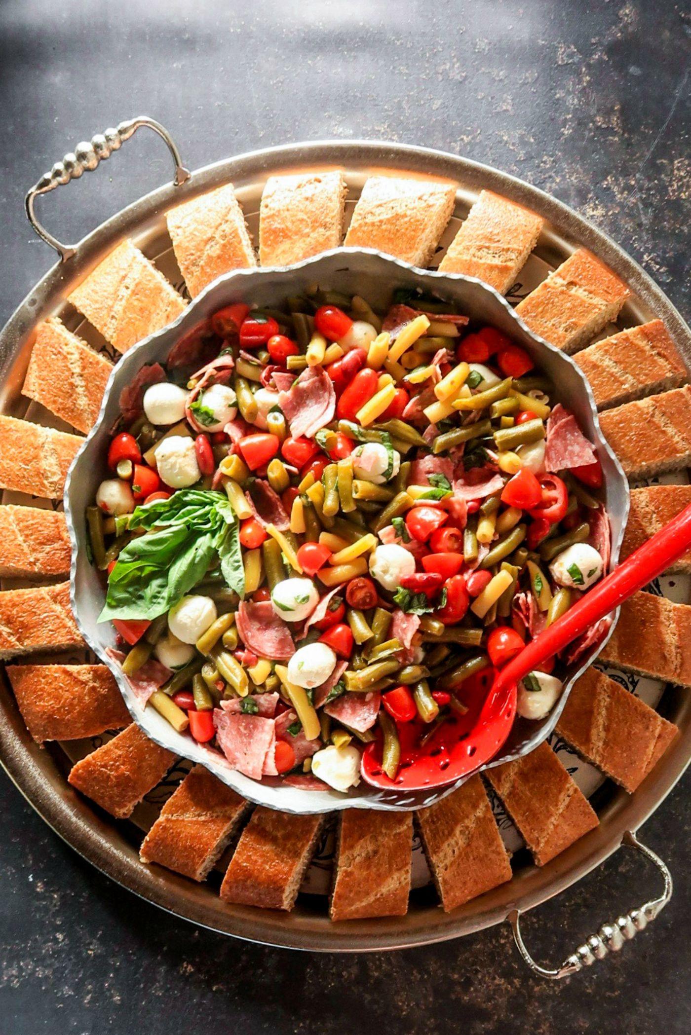 3 Bean Salami Salad Recipe