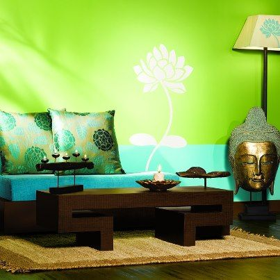 Asian paints royale play designs for the masterpiece wall for Interior design decorative paint effects