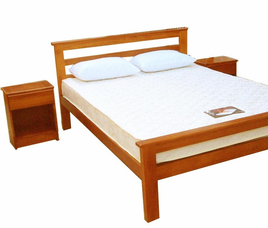 Creative simple wood bed frame designs idea personal Simple wooden bed designs