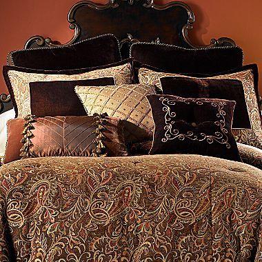 Chris Madden Palme Chenille Comforter Set Jcpenney Comforter Sets