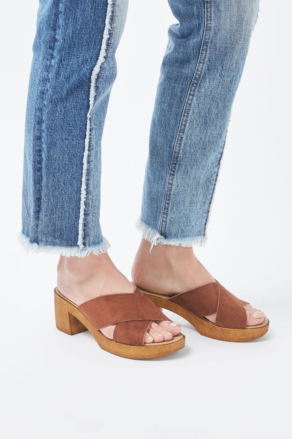 DIXY Mule Clog - New In- Topshop