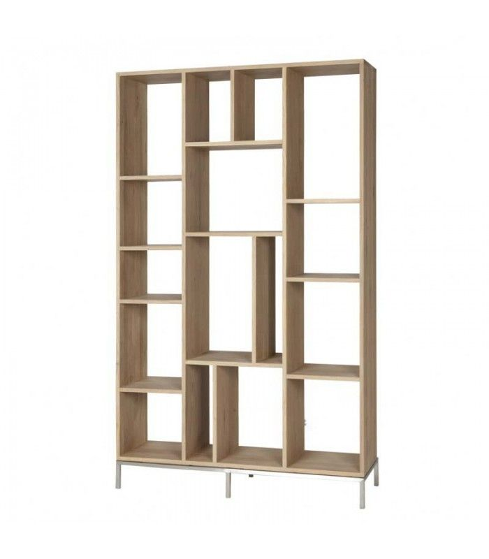 White Lofty Open Display Rack
