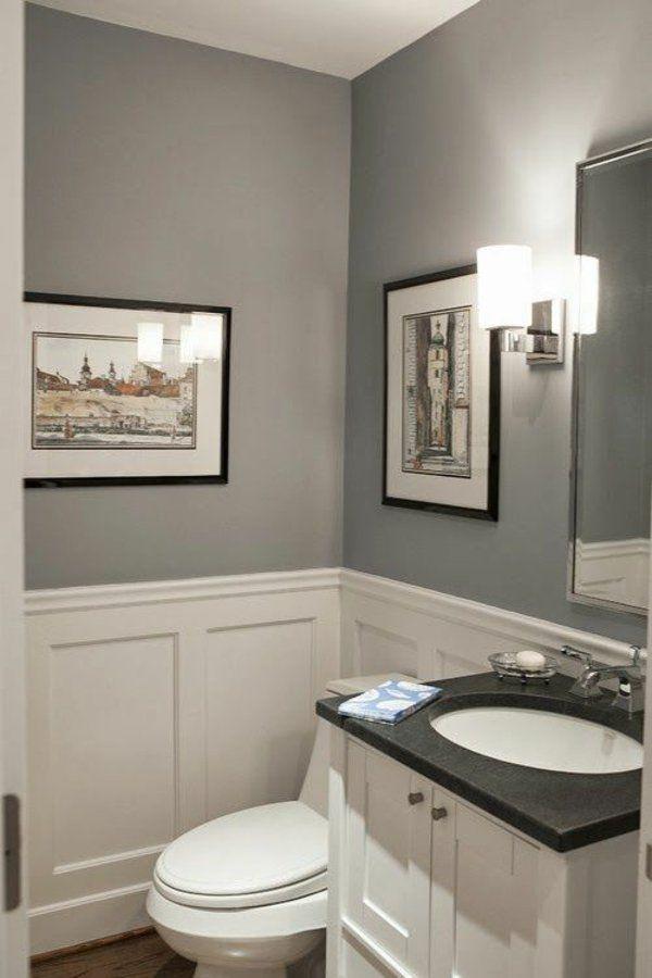 Wandfarbe Grau: 29 Ideen für die perfekte Hintergrundfarbe in jedem ...