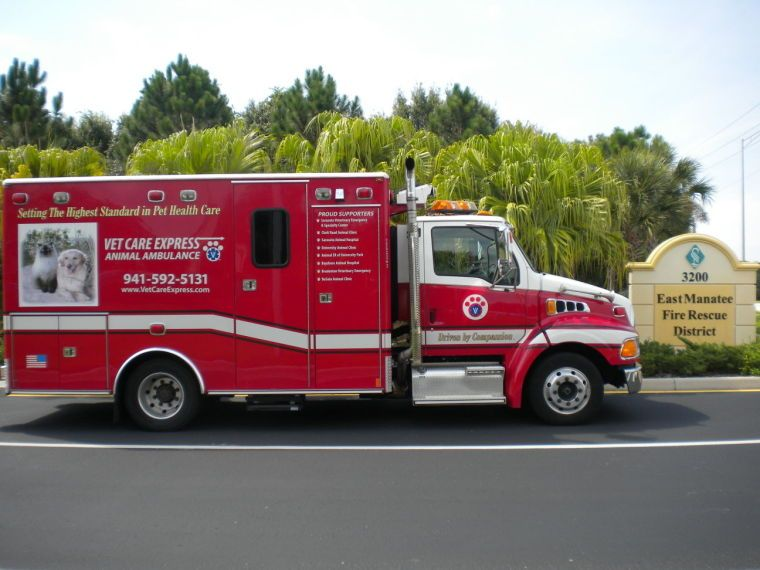 East Manatee Fire Rescue Offering Pet Ambulance Service Fire