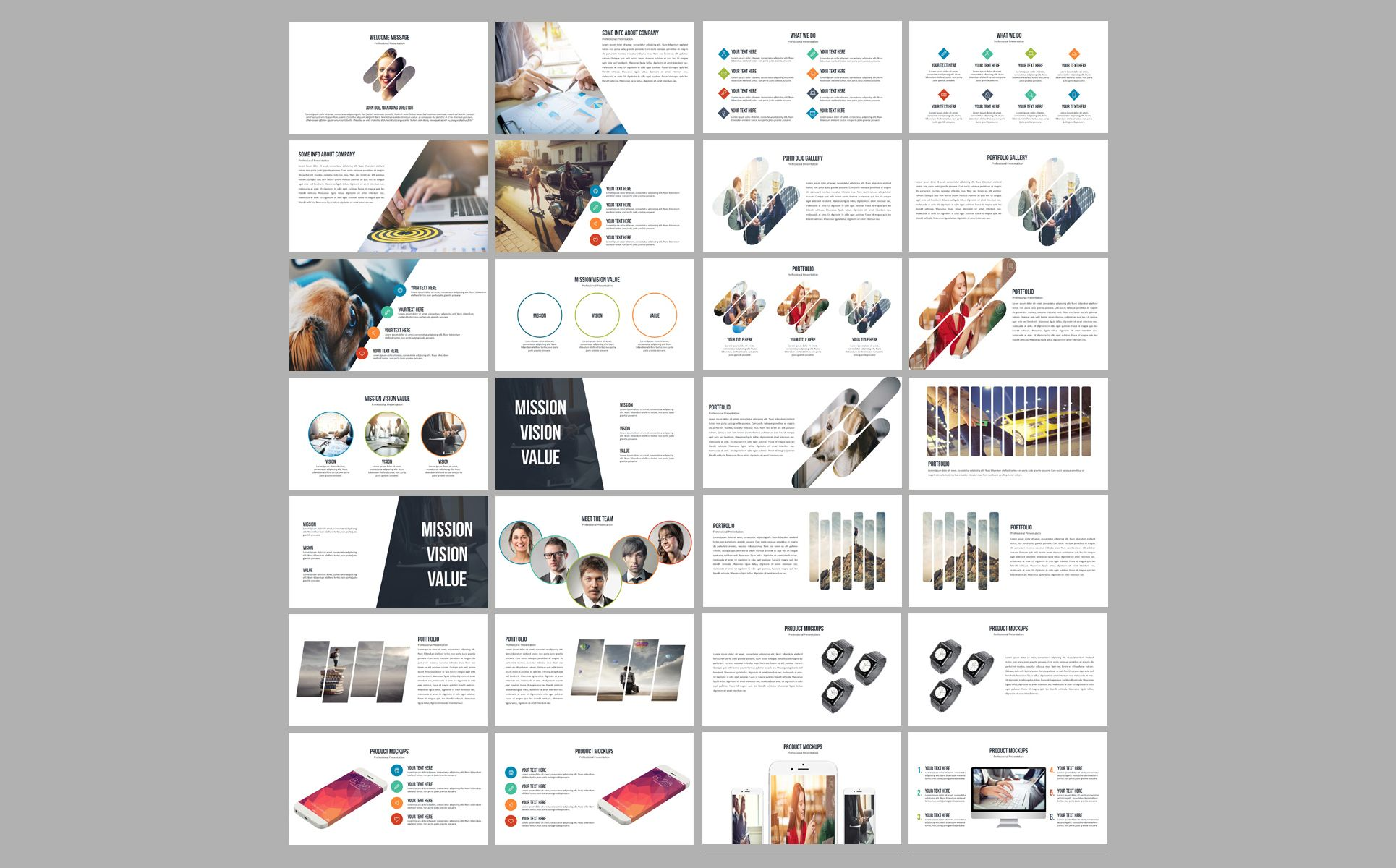 Business Plan 2020 PowerPoint Template 80891 (With images