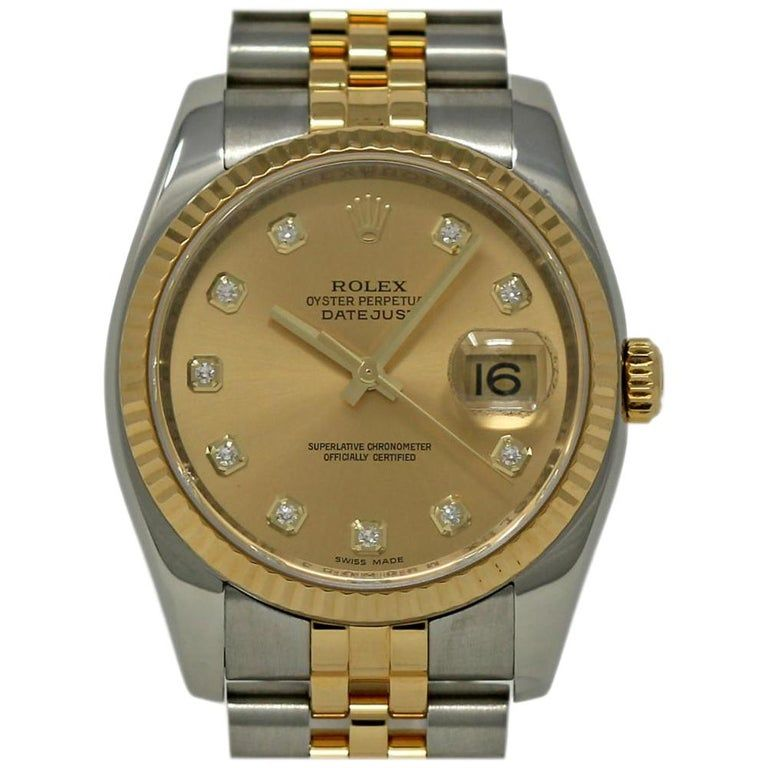 Rolex Datejust 116233 Case Certified Warranty