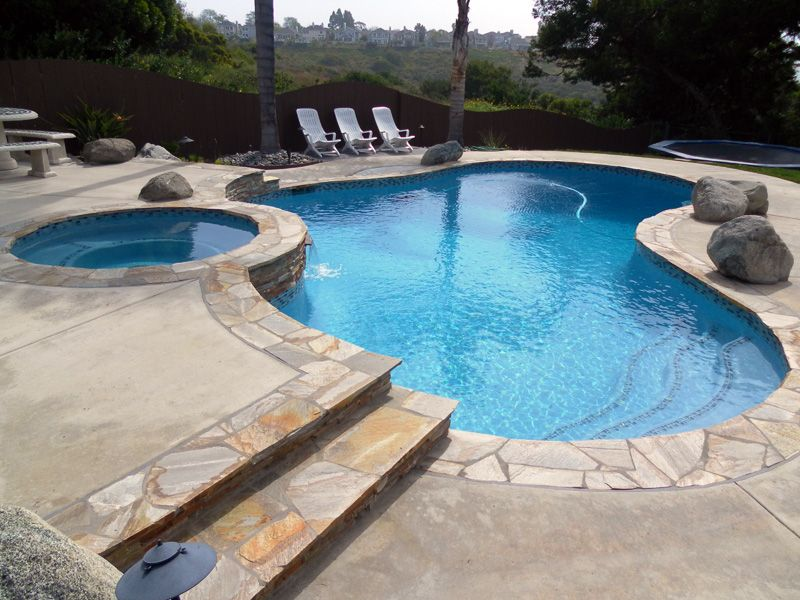 Welcome Stone Pool Deck Pool Plaster Backyard Pool Landscaping