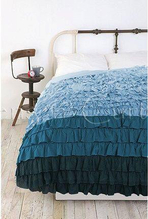 Blue Midnight Black Ruffle Duvet Cover Set 3pc By Softlinens 169 50 Ruffle Duvet Cover Beautiful Bedding Sets Ruffle Duvet