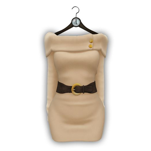 coldLogic dress - jones - fawn