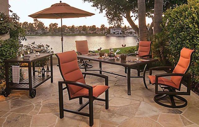 Tropitone Aluminum Patio Furniture From Jacksonville Patio Home U0026 Garden