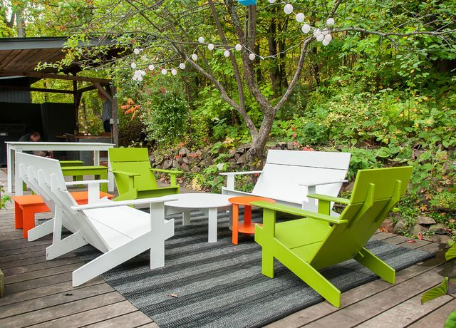 Shop Houzz Colorful Outdoor Furniture With Images Outdoor Furniture Design Colorful Outdoor Furniture Outdoor Decor