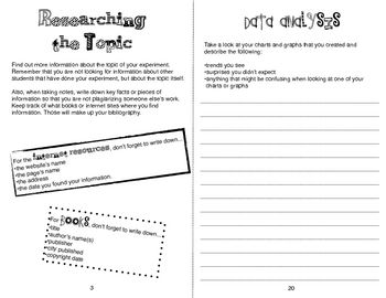 Science Fair Logbook With Images Science Fair Science Booklet