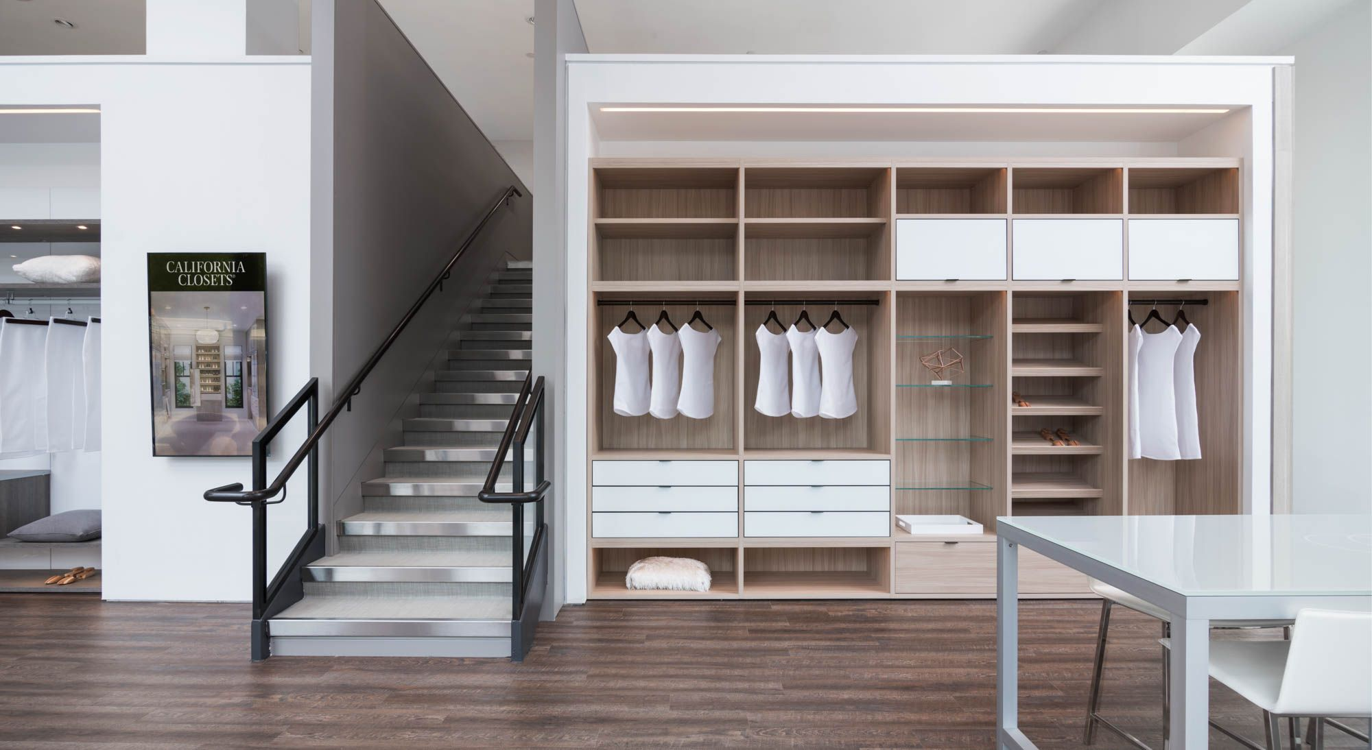 Come Find Inspiration And Meet Our Designers At Our Newly Renovated Tribeca Showroom 2 0 Located At 26 Varick Street Vis Closet Storage Design Closet Designs