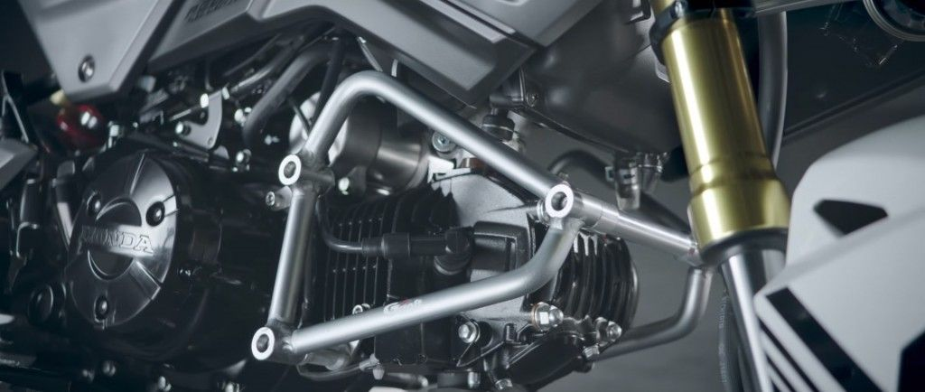 2016 honda msx 125 frame slider protection accessory pictures review specs grom