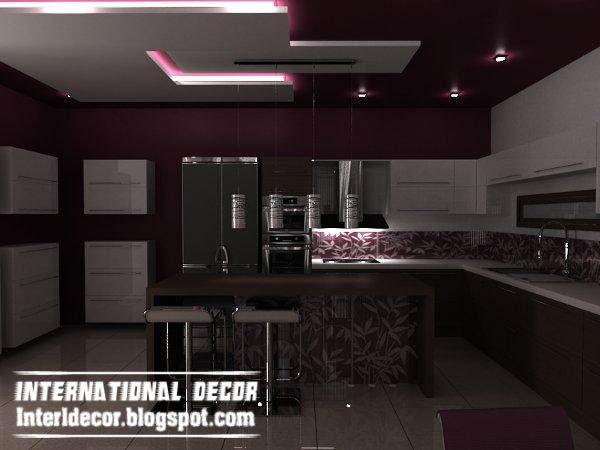 Groovy Top Catalog Of Kitchen Ceiling Designs Ideas Gypsum False Ceilings Largest Home Design Picture Inspirations Pitcheantrous