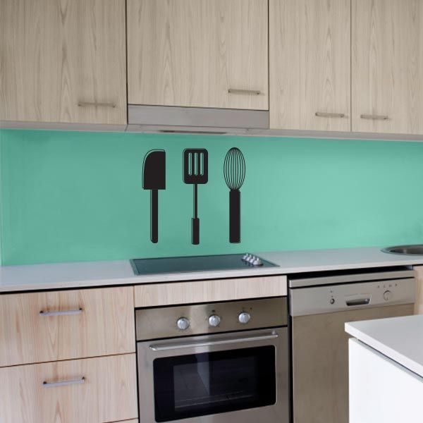 kitchen utensil wall decal set | wall decal world only $19. save 10