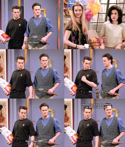Chandler + Joey