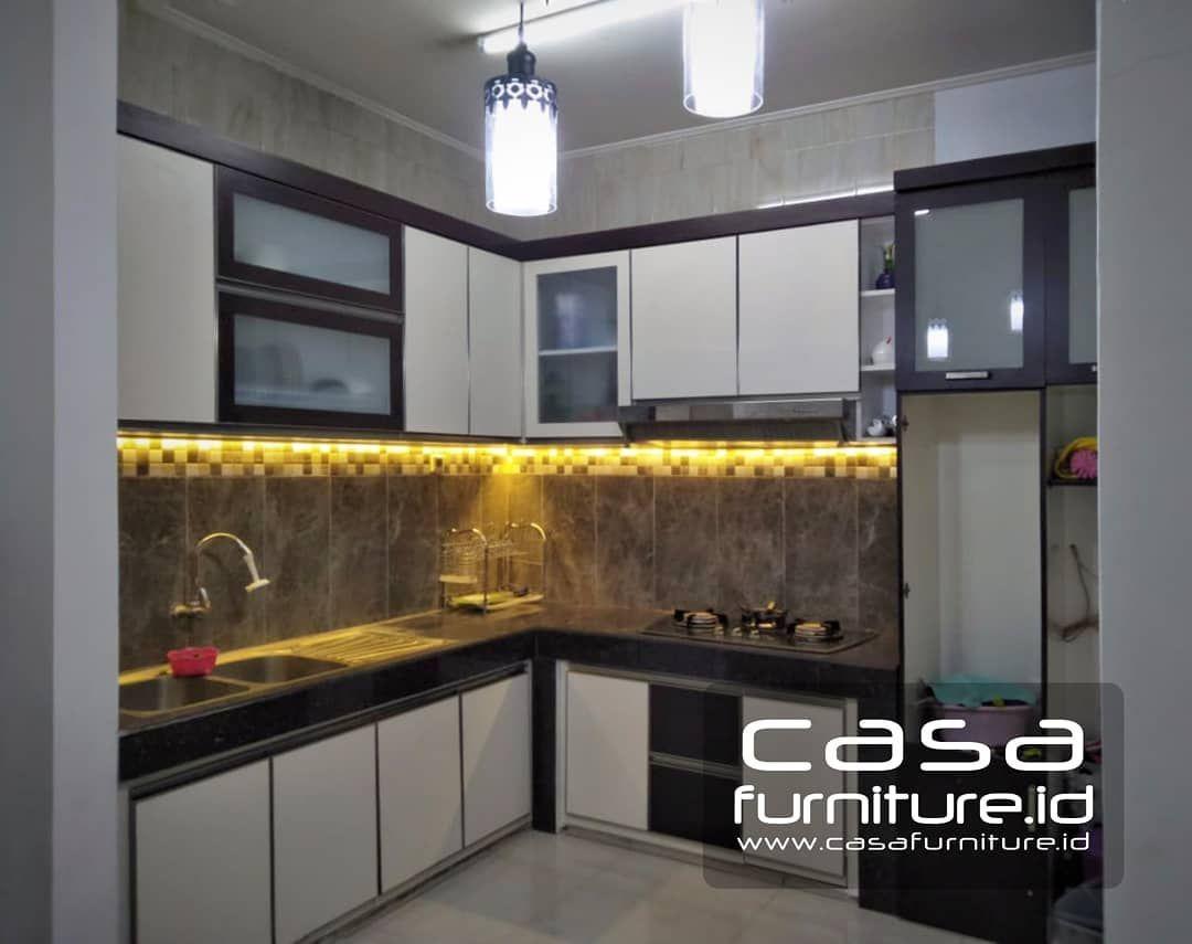Kitchen setlemari minimalis di instagram selamat malam www casafurniture