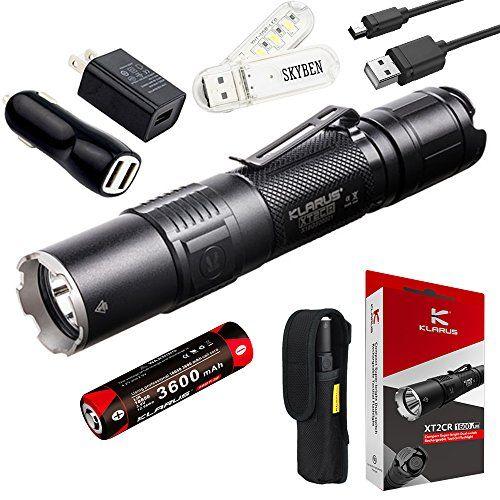 Klarus Xt2cr 1600 Lumens Cree Xhp35 Hd E4 Led Multi Mode Https Www Amazon Com Dp B074l Rechargeable Led Flashlight Tactical Flashlight Outdoor Flashlight
