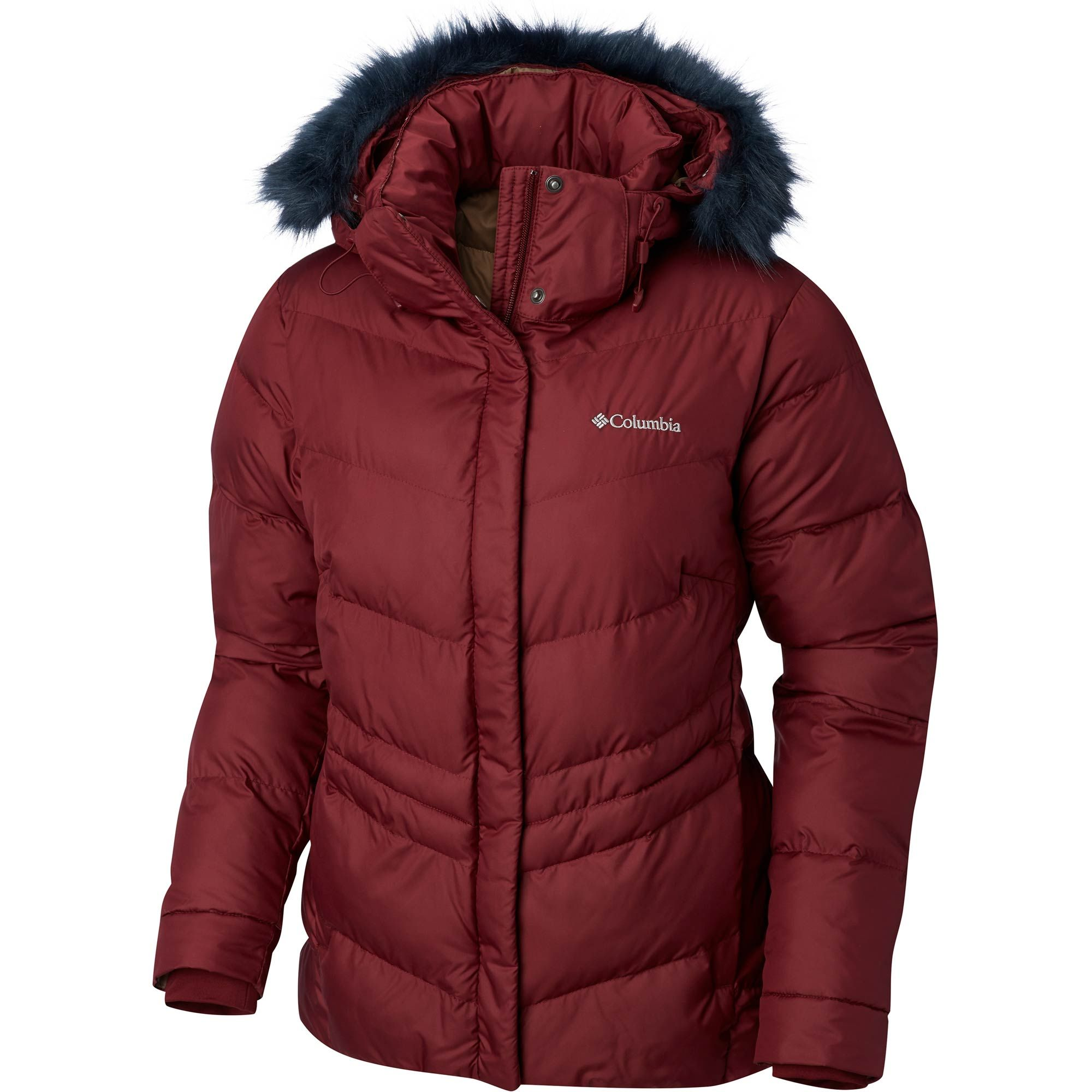 Crafted Of A Tough Water Resistant Storm Lite Dp Shell And Insulated With Snug Synthetic Down This Jewel Of A Columbia Jacket Womens Jackets Insulated Jackets