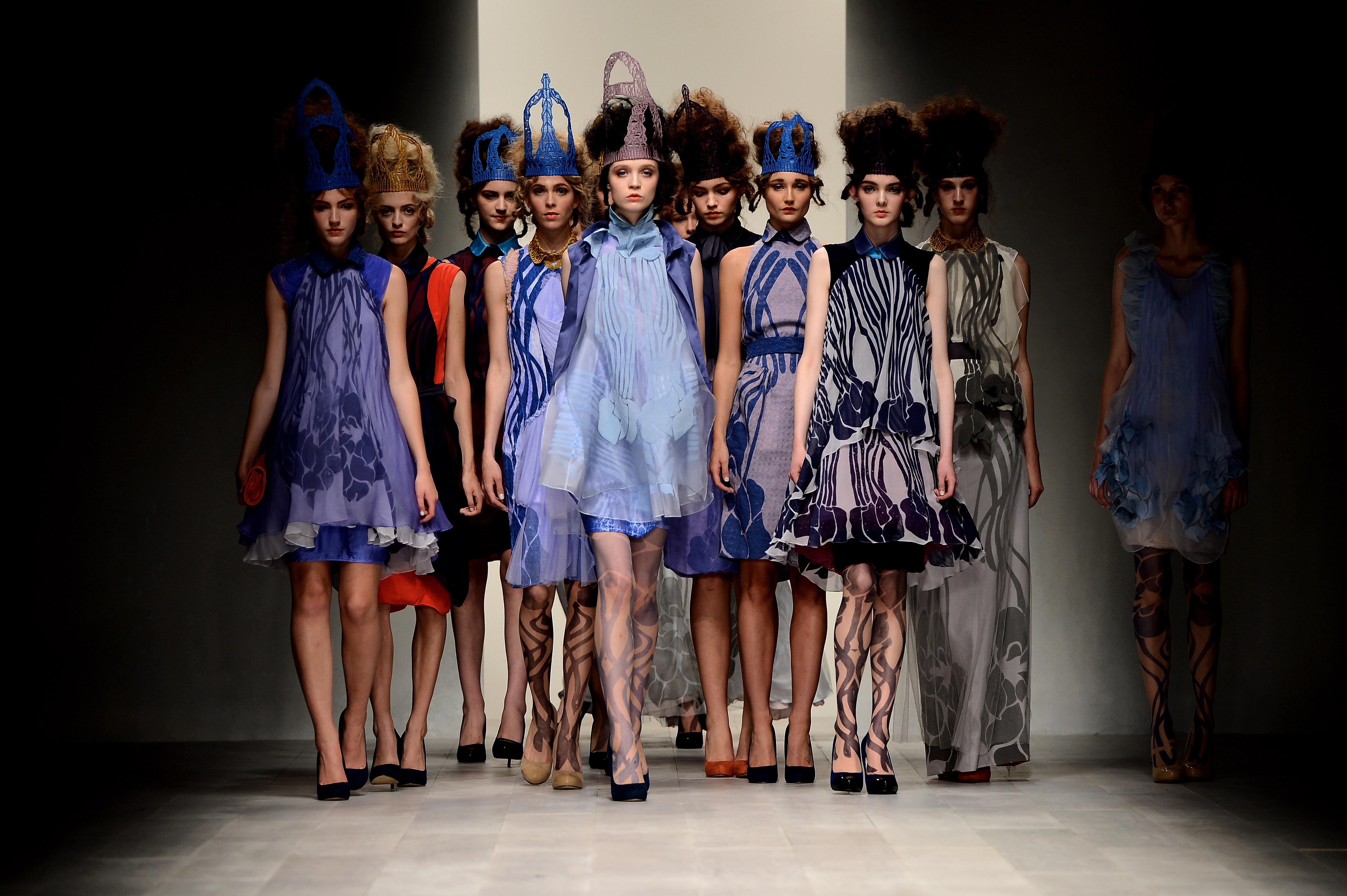 Fashion london week begins images
