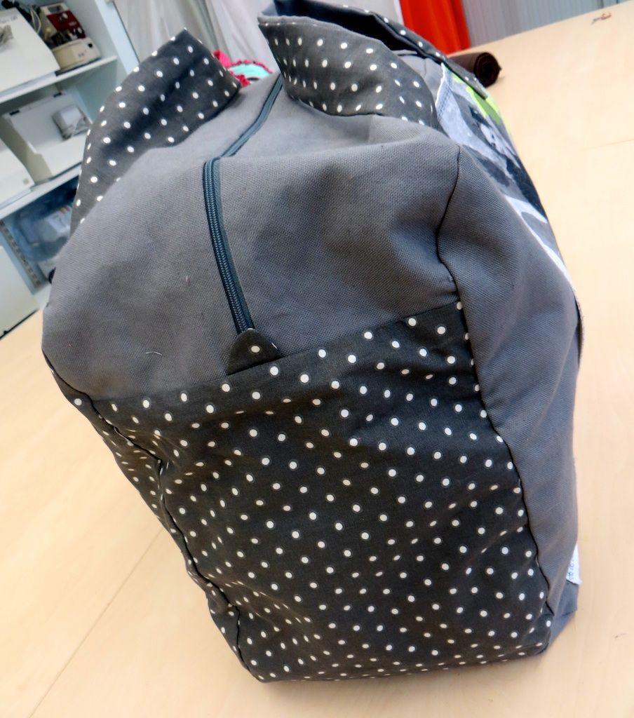 Tutoriel Bags Pinterest De Couture Sac Voyage Sewing 2 rARqrHzIwc