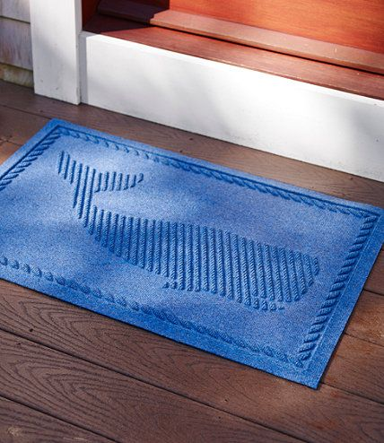 Everye Recycled Waterhog Doormat Whale Home