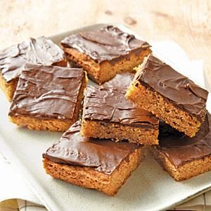 These bars are a classic of kids' cooking adventures and home economics classes. Try this updated version of the bars, fit for modern palates, with your own young chef. Substitute light brown sugar for the dark if you are looking for a milder bar.