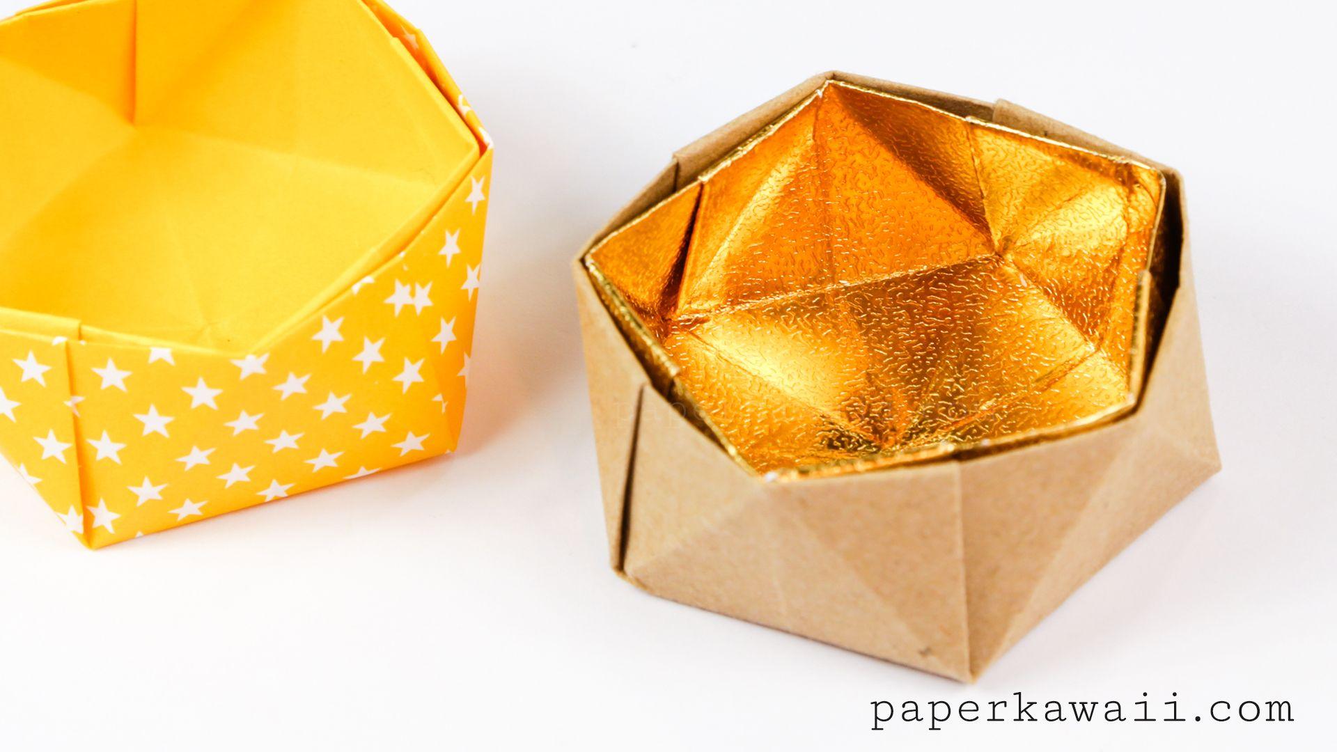 Geometric Origami Bowl Instructions Geometric Origami Origami And