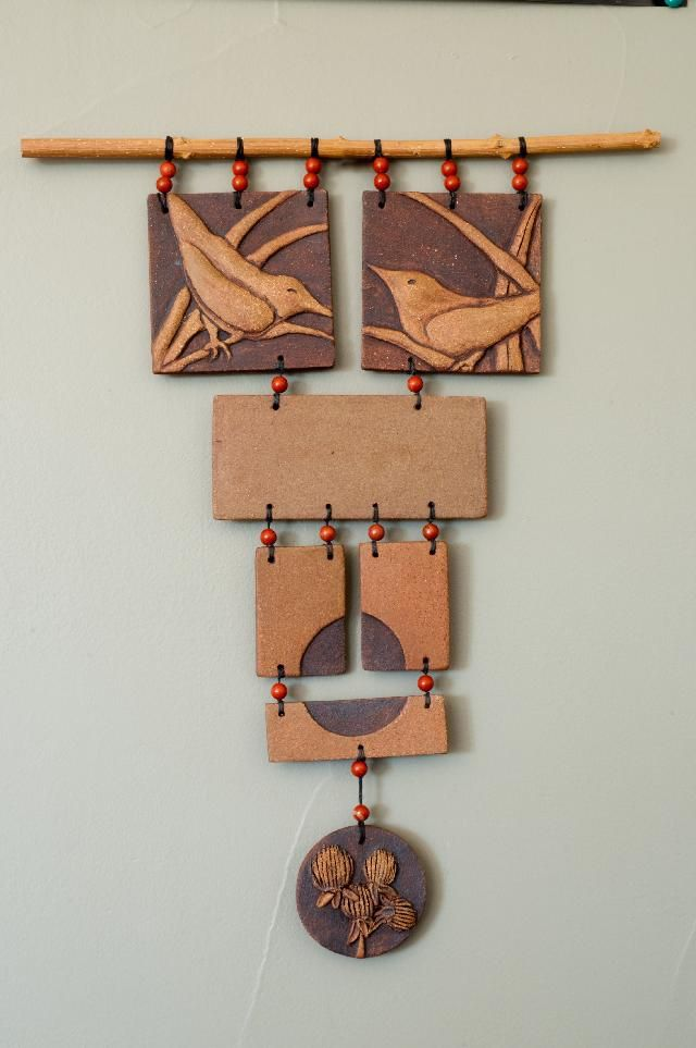 Wall Hanging with Birds
