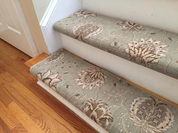 Best Authentic Wool Willowbrook True Bullnose™ Carpet Stair 400 x 300