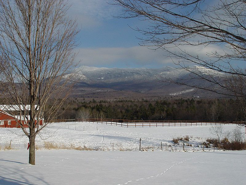 Mt. Mansfield from Underhill, VT  http://www.vermonter.com