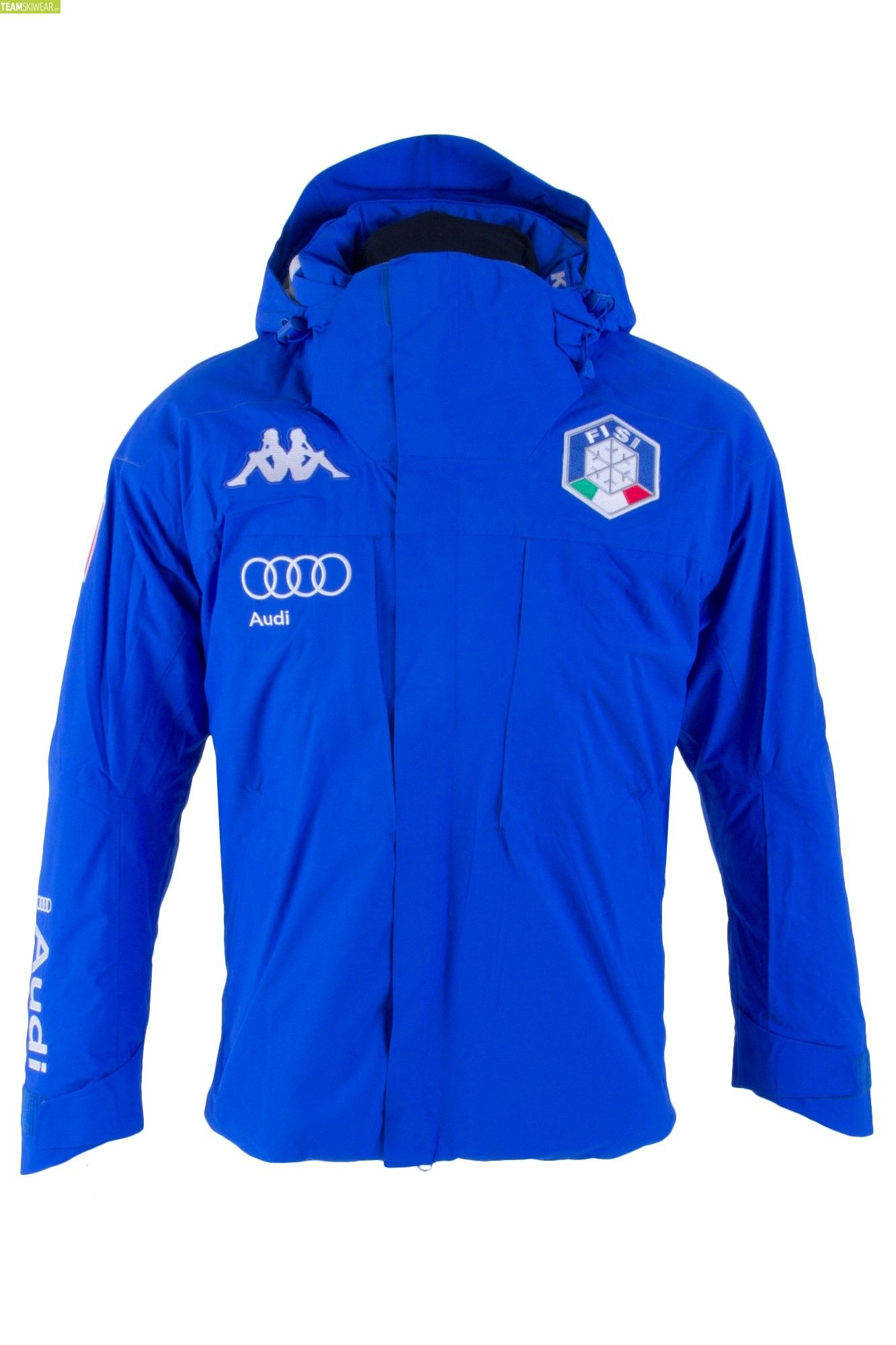 Kappa Men Italian Alpine Team FISI Jacket Blue Princess