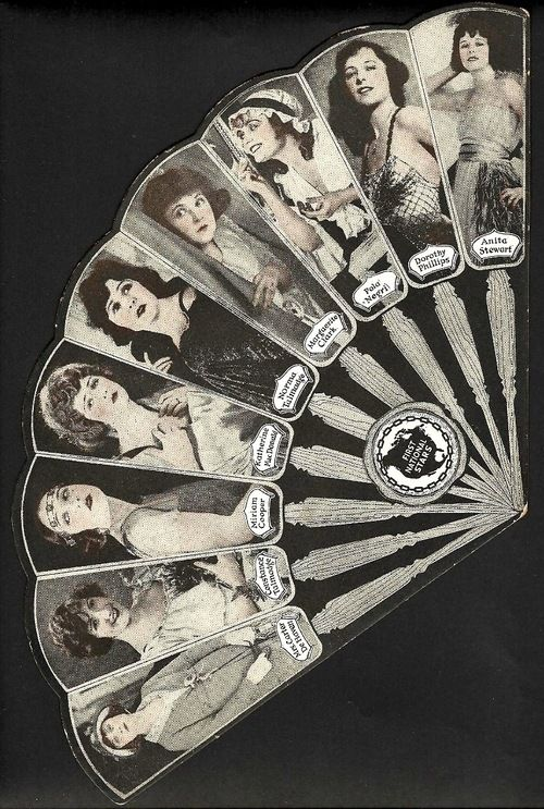 We Re A Big Fan Of This First National Pictures Fan Co Starring Flora Parker Dehaven Constance Talmadge Miriam Cooper Kath Hand Held Fan Fan Vintage Fans