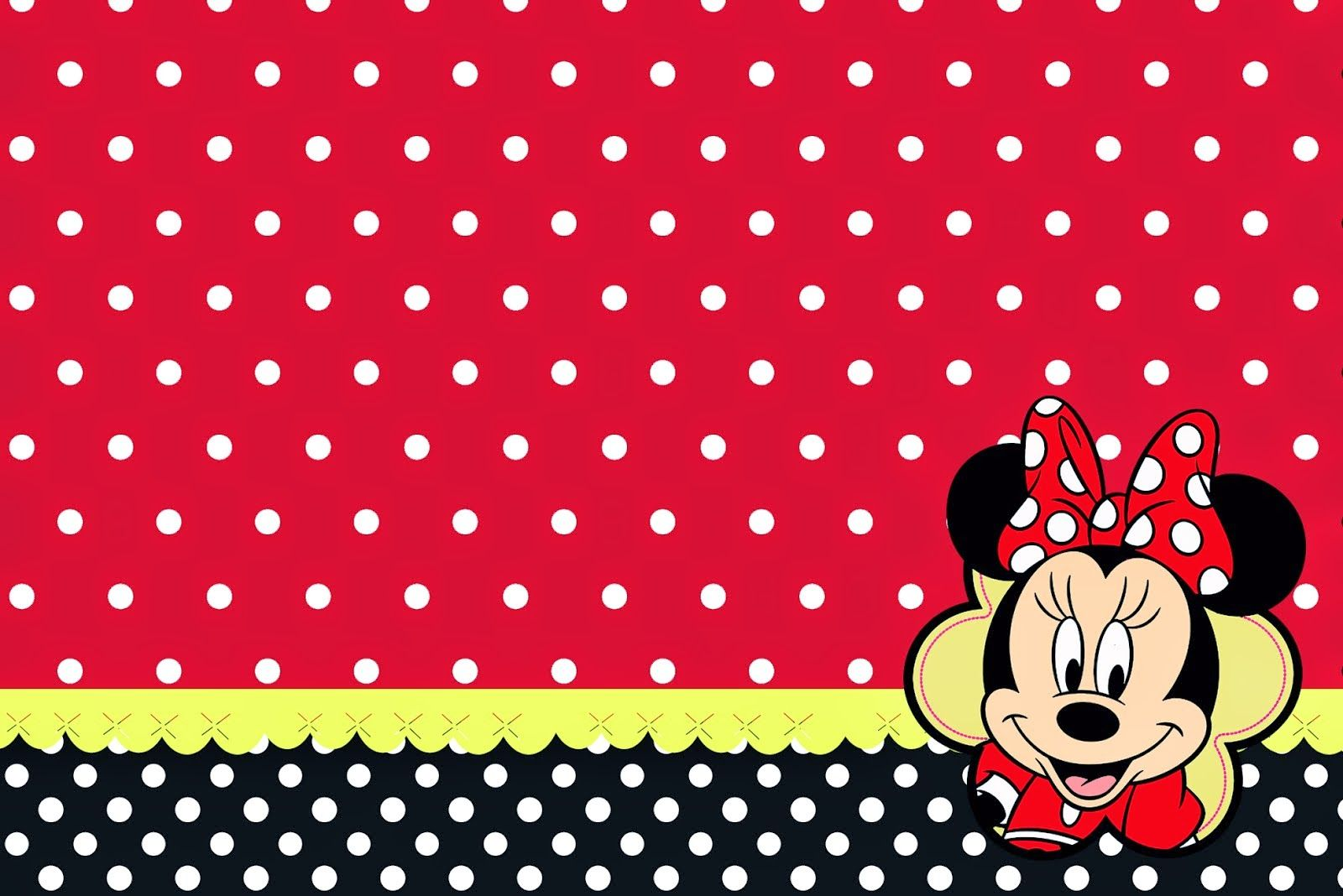 Pin by ☆Queenie★ on ii♥︎Minnie(^_−)−☆ Red minnie mouse