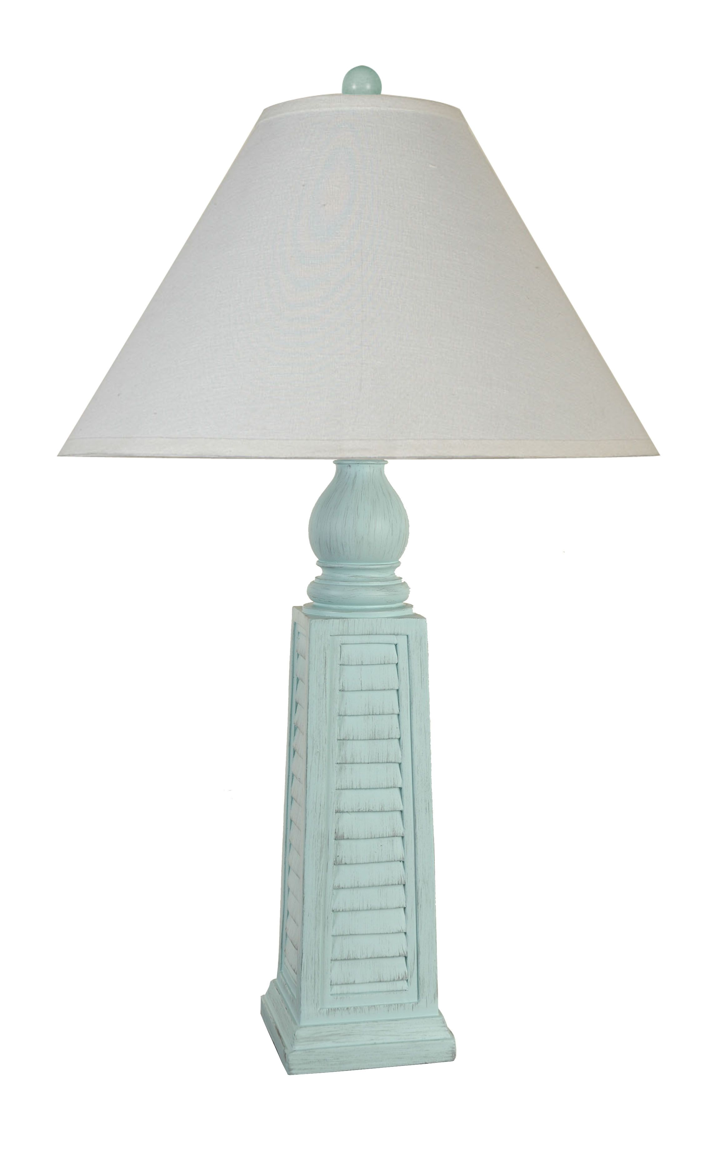 Lps 047 polyresin shutter table lamp by lamps per se coastal lps 047 polyresin shutter table lamp by lamps per se geotapseo Gallery