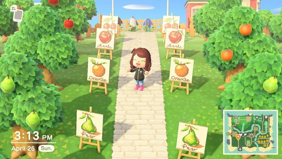 Thank You So Much For The Signs For My Orchard Ma 6027 54058678 Acqr Animal Crossing Game Fruit Animals Animal Crossing