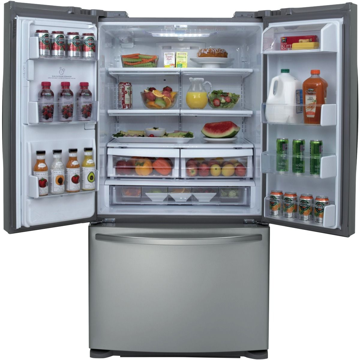 Uncategorized Good Guys Kitchen Appliances shop online for lg gf l613pl 613l french door refrigerator and doors