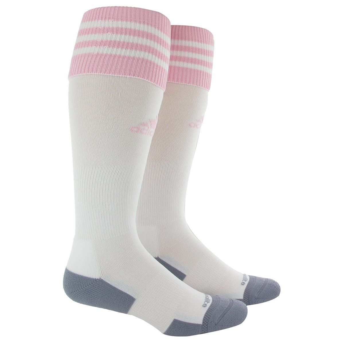Adidas Copa Zone Cushion 2.0 Socks (White/Pink) Socks