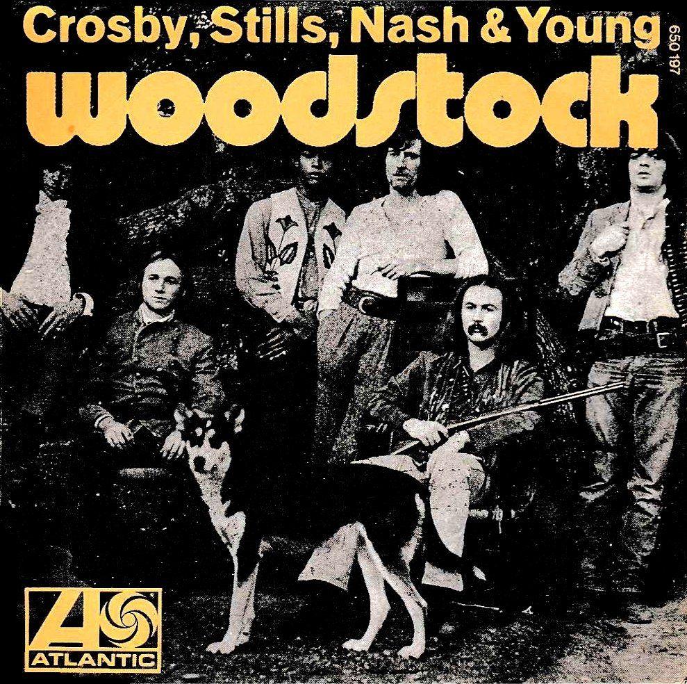 Crosby Stills Nash Amp Young Woodstock Album Covers C