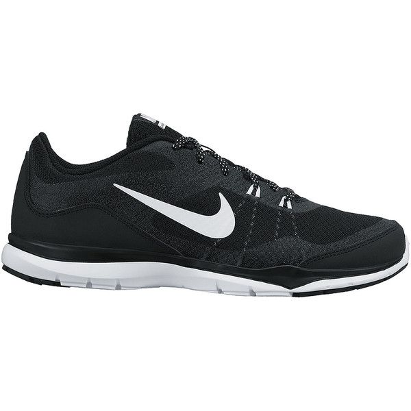 Nike Flex Trainer 5 Womens Training Shoes in Wide Width (1,170 HNL) ❤ liked on Polyvore featuring shoes, sneakers, nike, tennis shoes, 19. shoes., grip shoes, light weight tennis shoes, wide width shoes, lace up shoes and breathable shoes